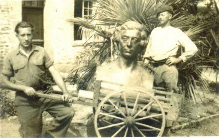 Déménagement du buste d'Alexis de Tocqueville