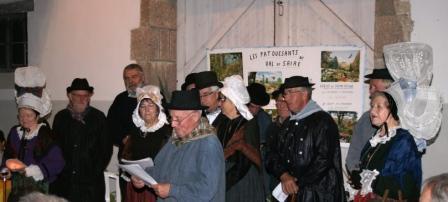 Le groupe Les Patouesants du Val de Saire