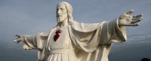 La statue a retrouvé son éclat